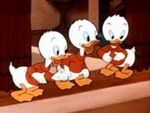 Huey, Dewey and Louie-Donald's Day Off
