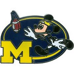 Michigan Football Pin