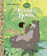 Disney the jungle book little golden book