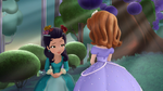 Princess Hildegard is asking Princess Sofia Why