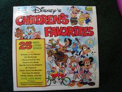 Disneys childrens favorites volume 1 lp