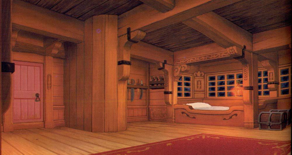 Image captain 39 s cabin art png disney wiki fandom for Captain s cabin