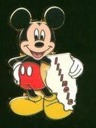 Illinois Mickey Pin