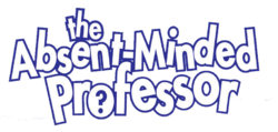 The Absent-Minded Professor Logo