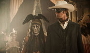 The Lone Ranger - John Ried and Tonto