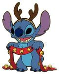 DisneyShopping.com - Stitch as a Reindeer Proof Series (Jumbo)
