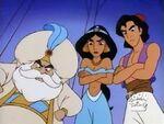 Aladdin, Jasmine & The Sultan