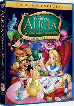Alicia en el país de las Maravillas DVD 2010
