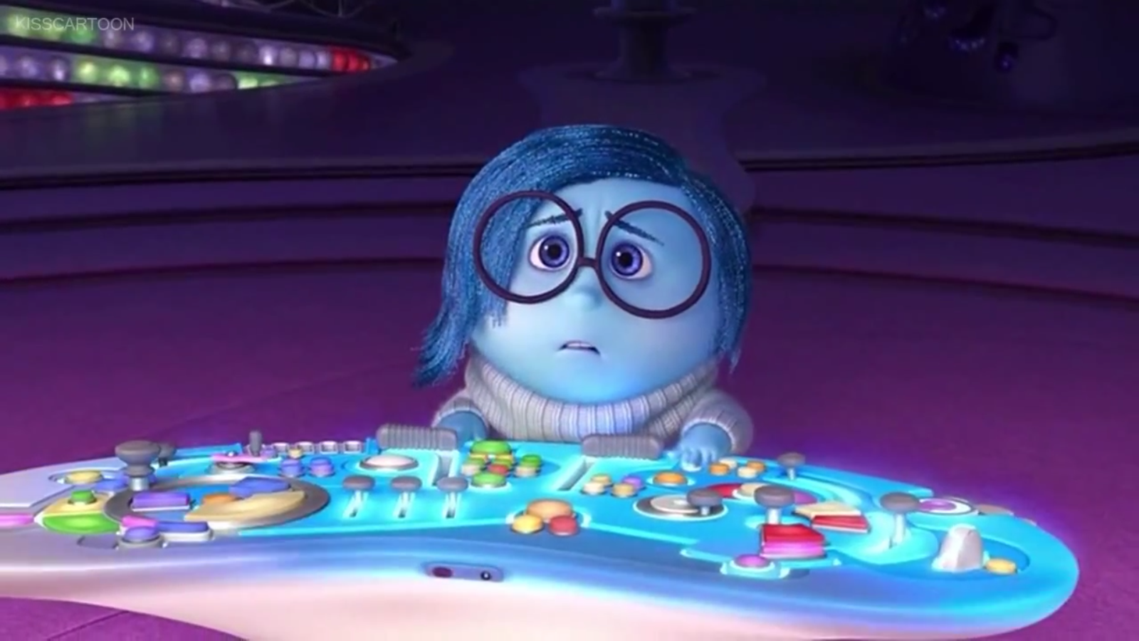 Image result for sadness inside out