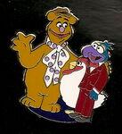 Disney pin jerry leigh 2012 fozzie gonzo