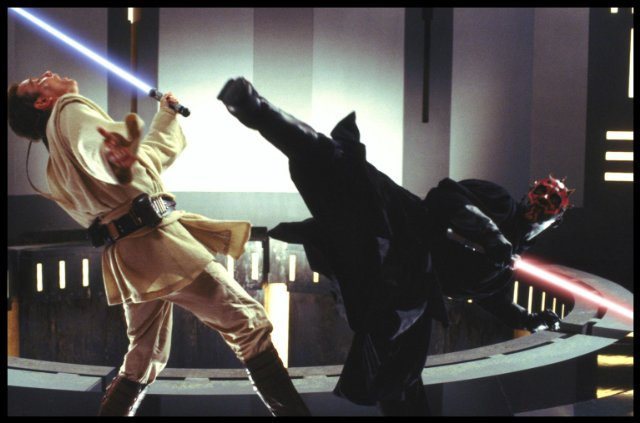 Image result for Darth Maul kick