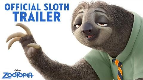 Zootopia Official US Sloth Trailer