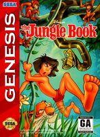 The Jungle Book Sega Genesis Cover