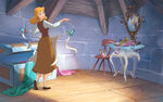 Disney Princess Cinderella's Story Illustraition 1