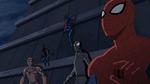 Spider-Man 2099, Spider-Man, Spider-Man Noir, Spyder-Knight, Miles Morales USMWW