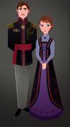 Anna and Elsa Parents