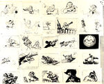 Peter Pan storyboard