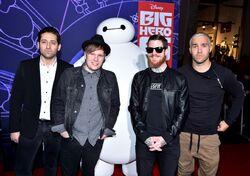 Fall Out Boy Big Hero 6 Premiere