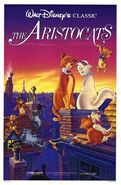 The Aristocats 1987 Re-Release Poster