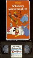 A Disney Christmas Gift VHS Front