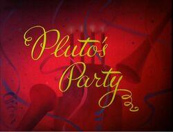 Pluto's Party