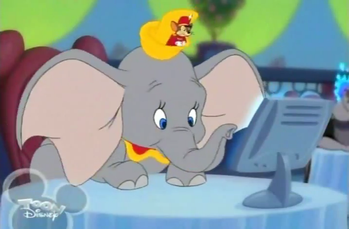 Image Dumbo On House Of Mouse Png Disney Wiki Fandom