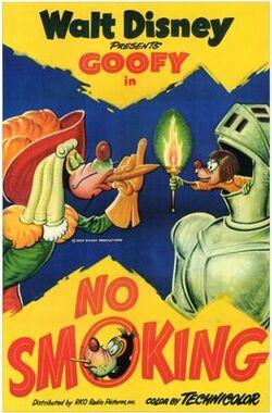 Goofy-No-Smoking-poster