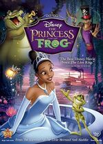 Princess frog dvd