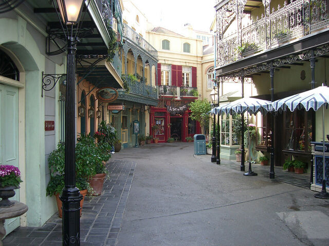 File:New Orleans Square at Disneyland.jpg