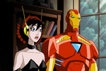 Wasp and iron man