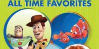Disney Pixar All Time Favorites