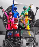 Power Rangers at Disney 2009-2010