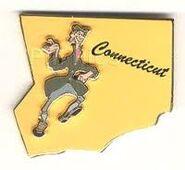 Ichabod Connecticut Pin
