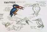 Lion king concept art character zazu 01