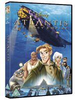 Atlantis The Lost Empire UK DVD 2014