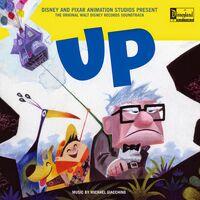 Up CD album cover