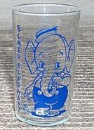 Elmer elephant glass