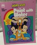 Paint with water book w pluto and twins