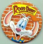 Roger Rabbit Button