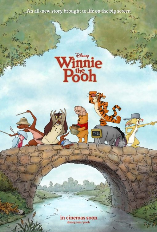 Image result for winnie the pooh 2011 poster