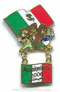 Mexico Independanced 2006 Pin