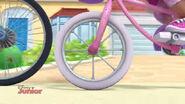 Doc's bicycle wheel