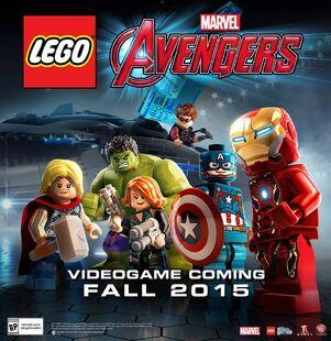 Lego-Marvel-Avengers videogame-poster