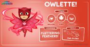 Owlette Stats