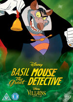 The Great Mouse Detective Disney Villains 2014 UK DVD