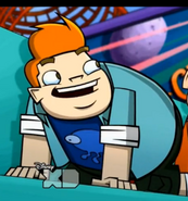 Howard in Rise of the Planet of the Robo Apes 2