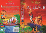 VHS-Walt-Disney-Home-Video-IL-RE-LEONE