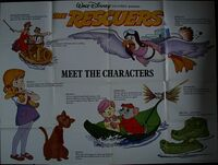 RESCUERS MEET THE CHARACTERS