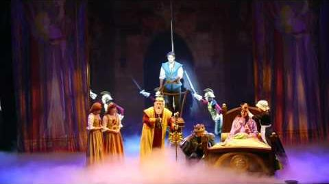 "Tangled The Musical on Disney Cruise Line's Disney Magic ""Flower of Gold"" new song, show opener"
