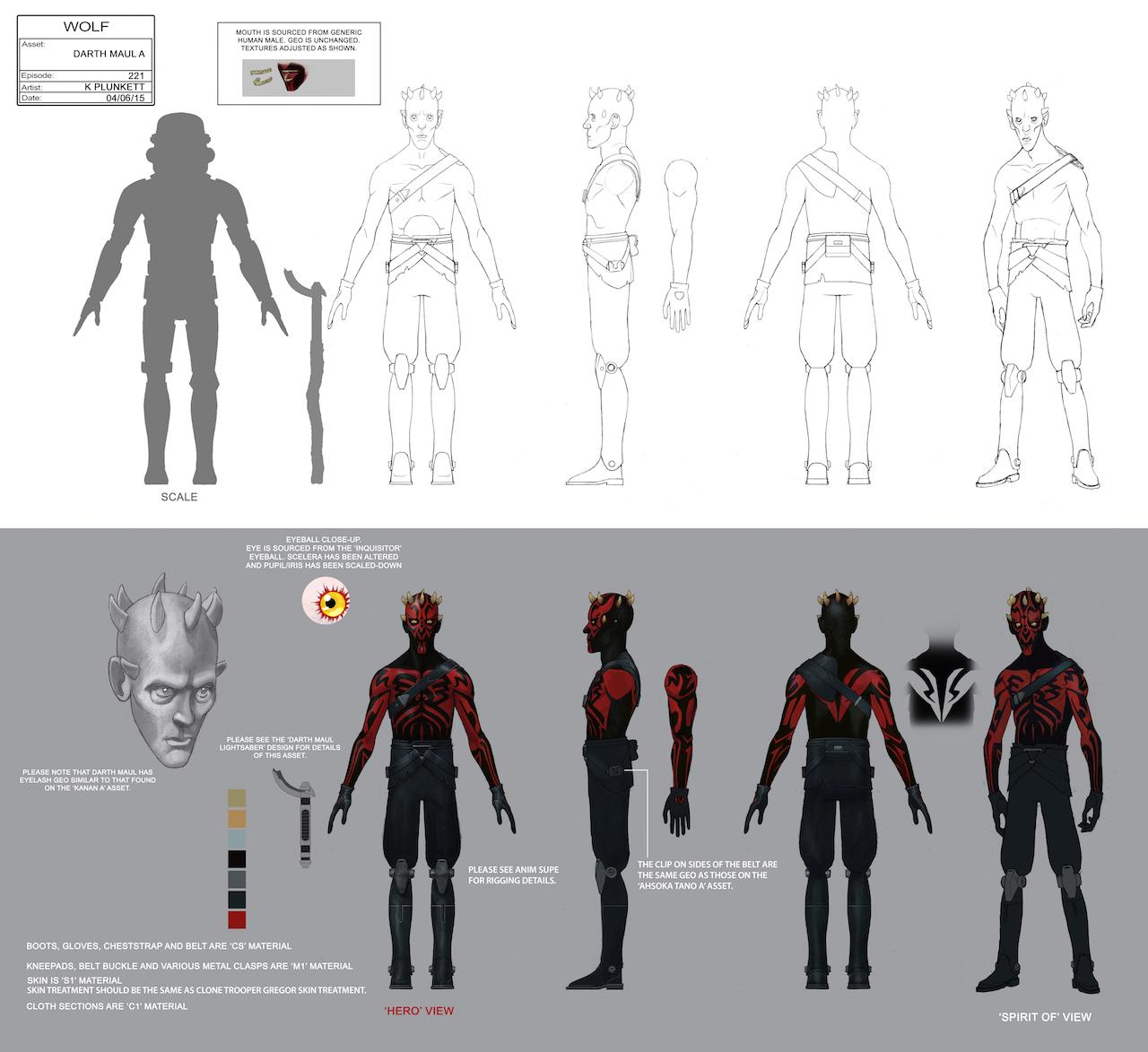 Disney Character Design Apprentice : Maul star wars rebels minecraft skin